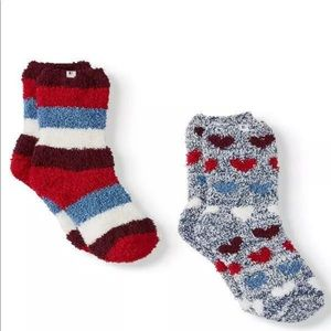 Ev1 from Ellen Degeneres 2 Pairs Cozy Socks